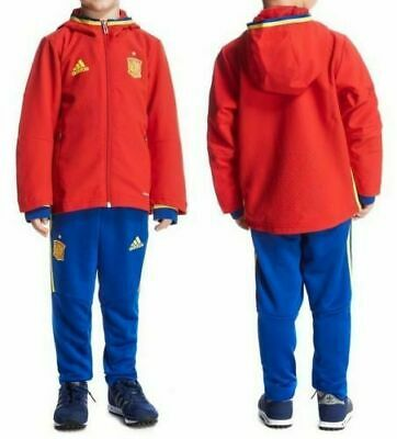 ADIDAS Spain national team trackSuit football climacool 18-24 mth RPR92€ NEW