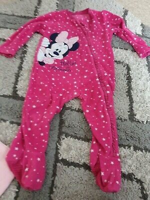 Baby girls Minnie mouse All In One