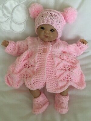 Hand Knitted Dolls Clothes To Fit 10-11 inch Ashton Drake,Reborn Doll