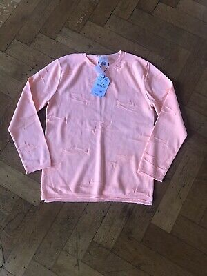 Boys Orange BNWT Zara Top Long Sleeved Age 11-12