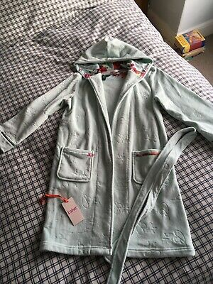 Girls ted baker dressing gown. Age 11/12 years Mint Green Excellent Condition