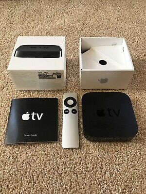 Apple TV (3rd Generation) MD199LL/A - Black.  Remote Does Not Work.