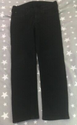 ** Boys H & M x2 Skinny Jeans Black And Blue Age 10/11 **