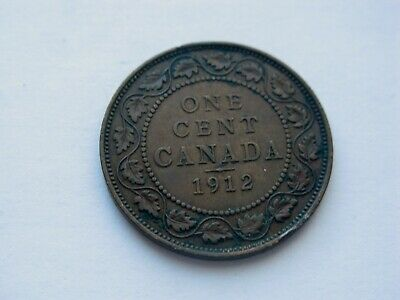 1912 Canada Large One cent