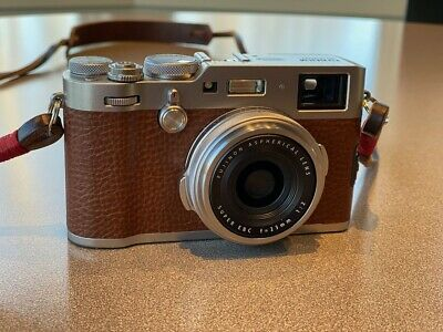 Fujifilm X100f Digital Camera - Brown. Special Edition. Mint. Only 900 exposures