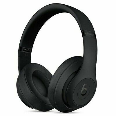 Beats by Dr. Dre Studio3 Wireless Over Ear Headphones Noise Cancel - Matte Black