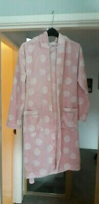 John Lewis Girls Aged 11 Fluffy Pink Dressing Gown