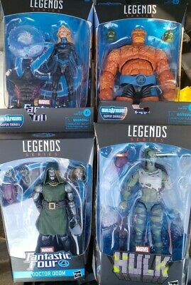Dr. Doom The Thing She Hulk Invisible Woman Marvel Legends BRAND NEW LOT(4)