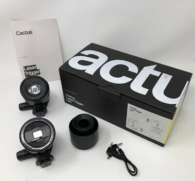OPENED- NEVER USED Cactus LV5 Laser Trigger