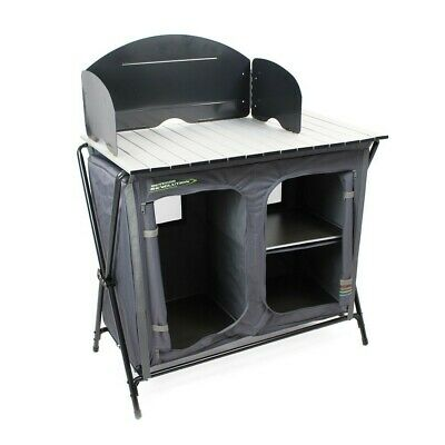 Camping Kitchen Unit foldable with storage bag