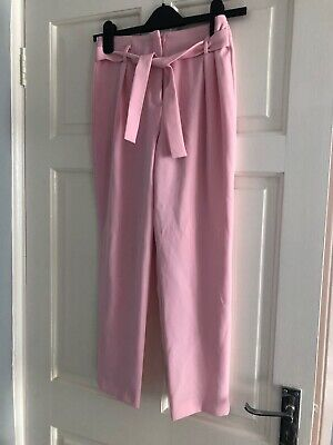Girls Next Pink Peg Leg Trousers Size 12 Years