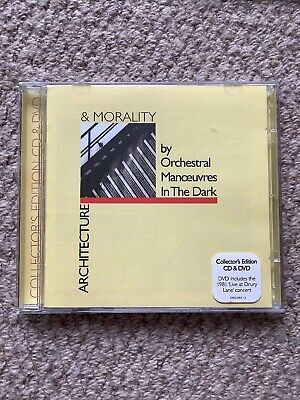 Orchestral Manoeuvres in the Dark - Architecture & Morality (Rare CD + Live DVD)