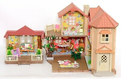 *fistuff* Sylvanian Families Decorated Willow/Beechwood Hall/House Conservatory