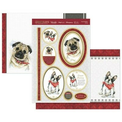 Papercraft Pad - It/'s A Dog/'s Life Hunkydory DOG103