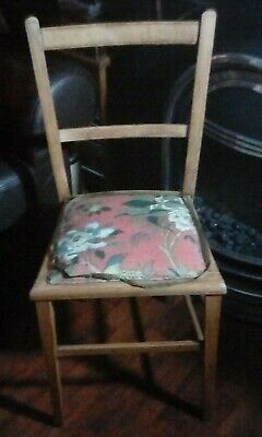 Antique Occasional Chair. Looks like arts & crafts style.