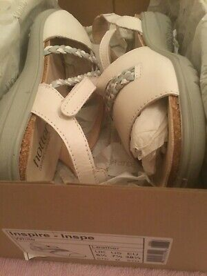HOTTER INSPIRE Comfort Concept white sandals Size 5.5