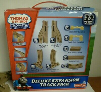 Thomas & Friends Deluxe Expansion Track Pack TrackMaster Mattel Fisher-Price