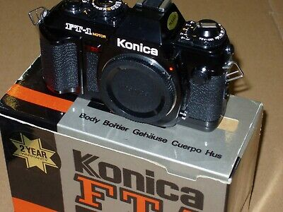 2 X Konica Ft1 Motor Mint, Boxed, Unmarked Condition, Read The Listing