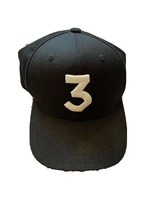 Chance The Rapper 3 The classic Coloring Book Cap Snapback Hat Authentic Three