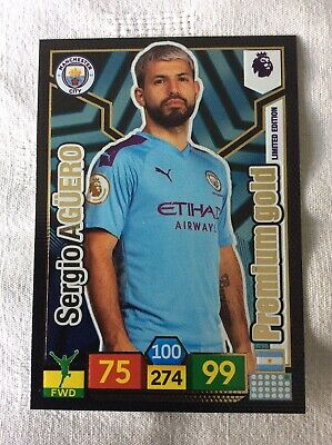 "Panini Adrenalyn XL - Premier League 2019 - 20: Sergio Aguero ""Limited Edition"""