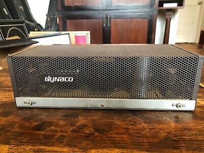 Dynaco Dynakit ST 35 Tube Amp Vintage Stereo Amplifier 35 Watt with instructions