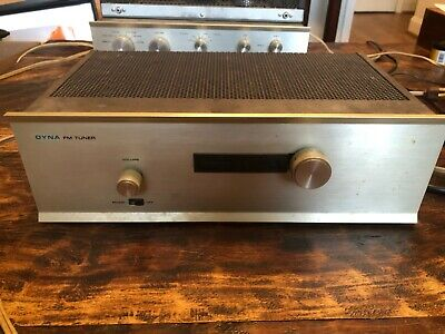 DYNACO/DYNA MODEL FM-3. vintage FM TUBE STEREO TUNER. Used. Powers up.