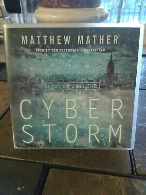 Cyber Storm Audio Book by Matthew Mather 2013