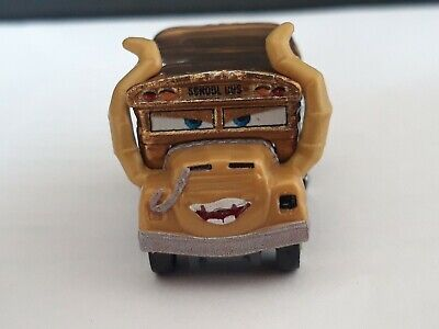 Disney Pixar Cars Mini Racers: Exclusive New Look Golden Miss Fritter.