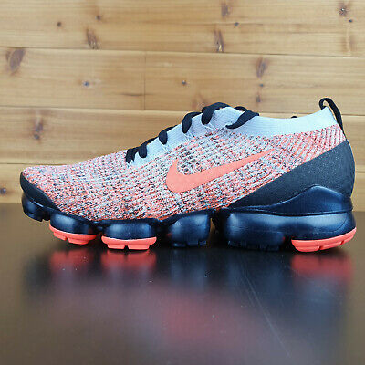 Nike Air Vapormax Flyknit 3 Mens Bright Mango Black AJ6900-800 NEW Multi Sizes