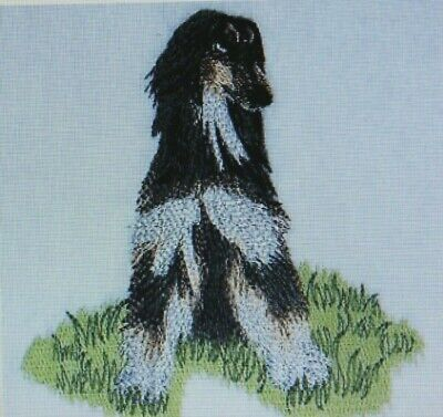 AFGHAN HOUND Bath  Hand Towel Set EMBROIDERED