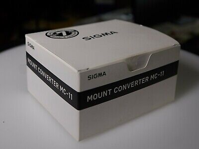 Sigma MC-11 EF-E Mount Converter For Canon (Sony E Mount) - Mint