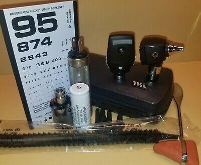 Welch Allyn Diagnostic Set With Otoscope And Ophthalmoscope & Much More
