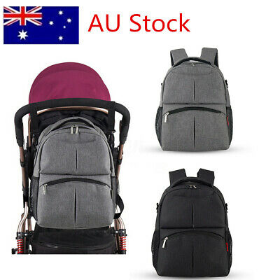 insular  Large Mummy Rucksack Maternity Nappy Diaper Bag Baby Travel Backpack
