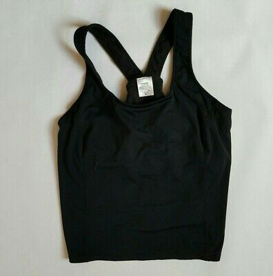 PATAGONIA Women's Size XL Breathable Trail Black Compression Sports Bra Athletic