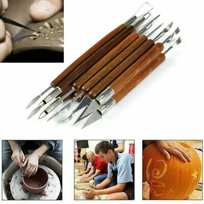 Clay Sculpting Wax Carving Pottery Tools Polymer Ceramic Modeling Repair x6 ~