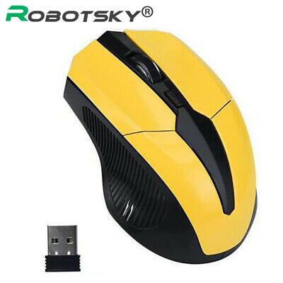 2.4GHz Wireless Cordless Mouse Mice Optical Scroll F. PC Laptop Computer