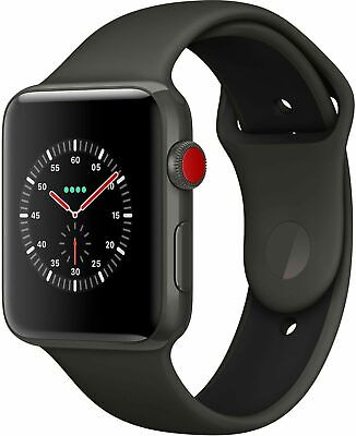 APPLE Watch Edition Series 3 38 mm Keramikgehäuse GPS + Cellular schwarz B-Ware