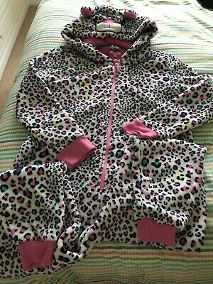 Girls fleece Snuggly All In One  Age 13-14