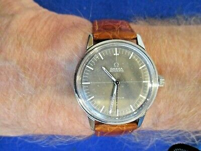 Vintage Omega Automatic Original Cross Hair Dial Gent's Watch
