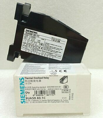 1PC NEW Siemens Thermal Overload Relay 3UA5940-1C 1.6-2.5A Free Shipping