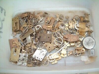 clock maker job lot clock platform escapement FOR repair all Broken horologist