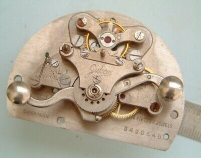 clock maker Gibson timer with good platform escapement Mystery item Some timer