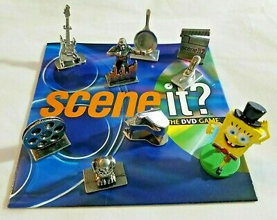 Scene It? Dvd Board Game - Replacement Movers Tokens & Dice - You Pick