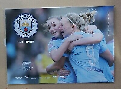 Manchester City Women v Bristol City Woman Programme  12/02/2020 WSL