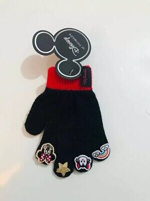 Primark Disney Minnie Mouse Mickey Mouse gloves Girls earmuffs Winter Holiday