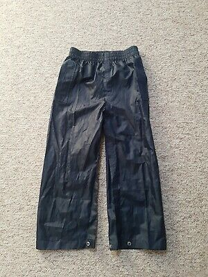 Boys Waterproof trousers From Next.age 6 Year's Excellent Condition
