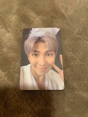 BTS Map Of The Soul : 7 Version 1 RM Official Photocard