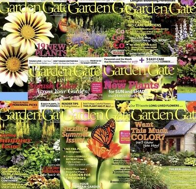 Eight Back Issues Garden Gate Magazines 2010-2012