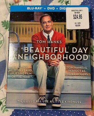 A Beautiful day in the Neighborhood(Blu-Ray/ DVD/ Digital, 2019)*NEW* Slipcover