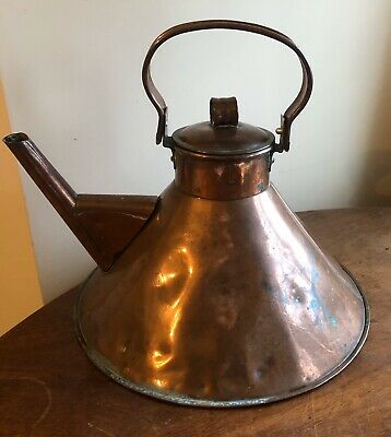 A Large Arts And Crafts Copper Kettle